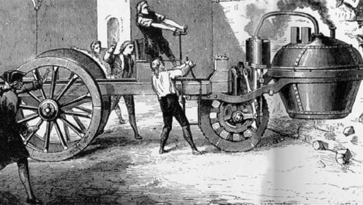 Máy hơi nước, biểu tượng của cách mạng công nghiệp lần thứ nhất !