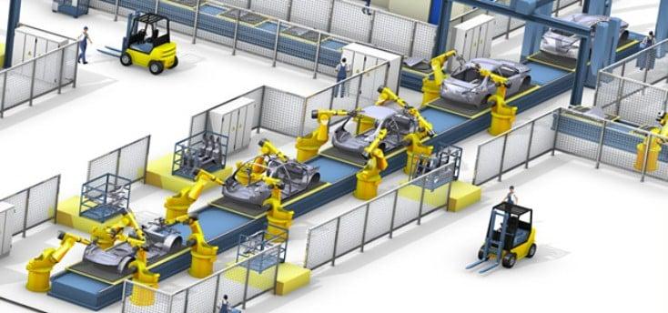 Tự động hóa được áp dụng vào dây chuyền sản xuất hàng loạt đã tạo ra các sản phẩm có giá thành rẻ hơn, chất lượng hơn và số lượng cũng nhiều hơn.